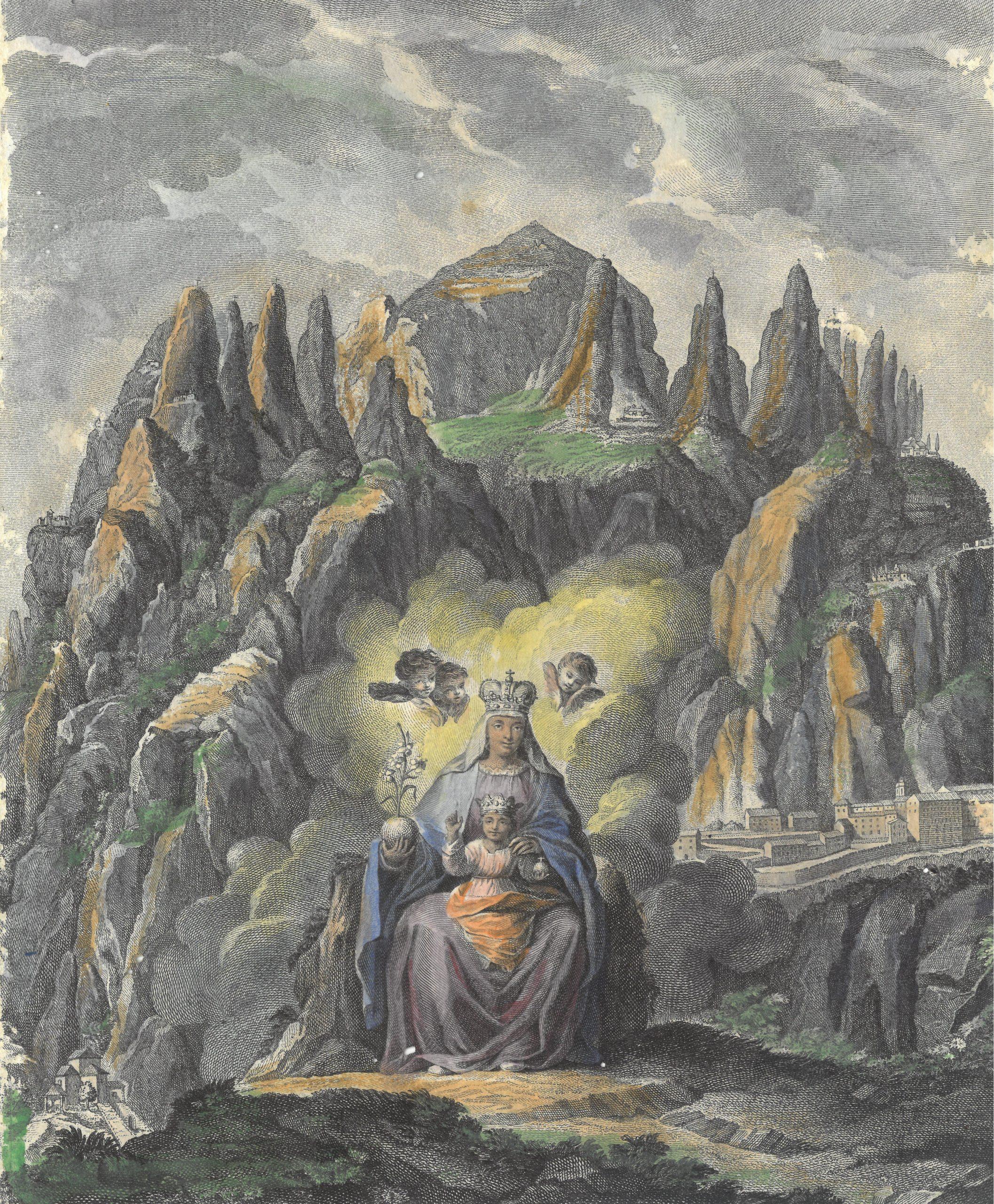 Gravats Mare de Deu Biblioteca de Montserrat