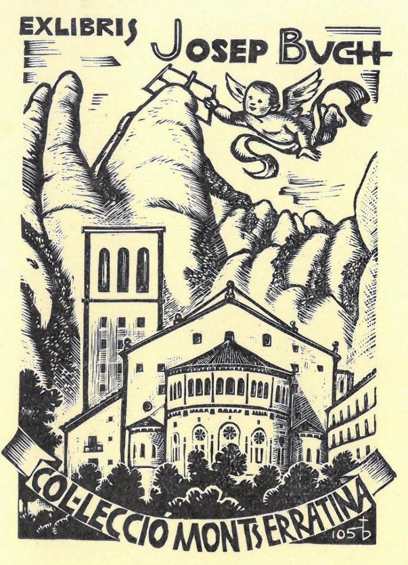 Buch Biblioteca de Montserrat