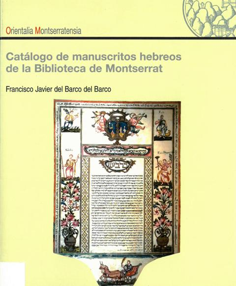 Catàleg Orientals 1 Biblioteca de Montserrat