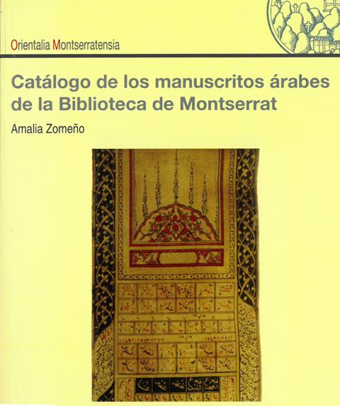 Catàleg Orientals 2 Biblioteca de Montserrat