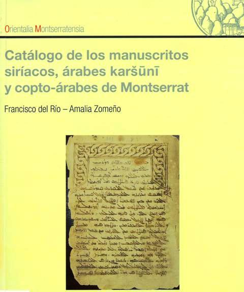 Catàleg Orientals Biblioteca de Montserrat