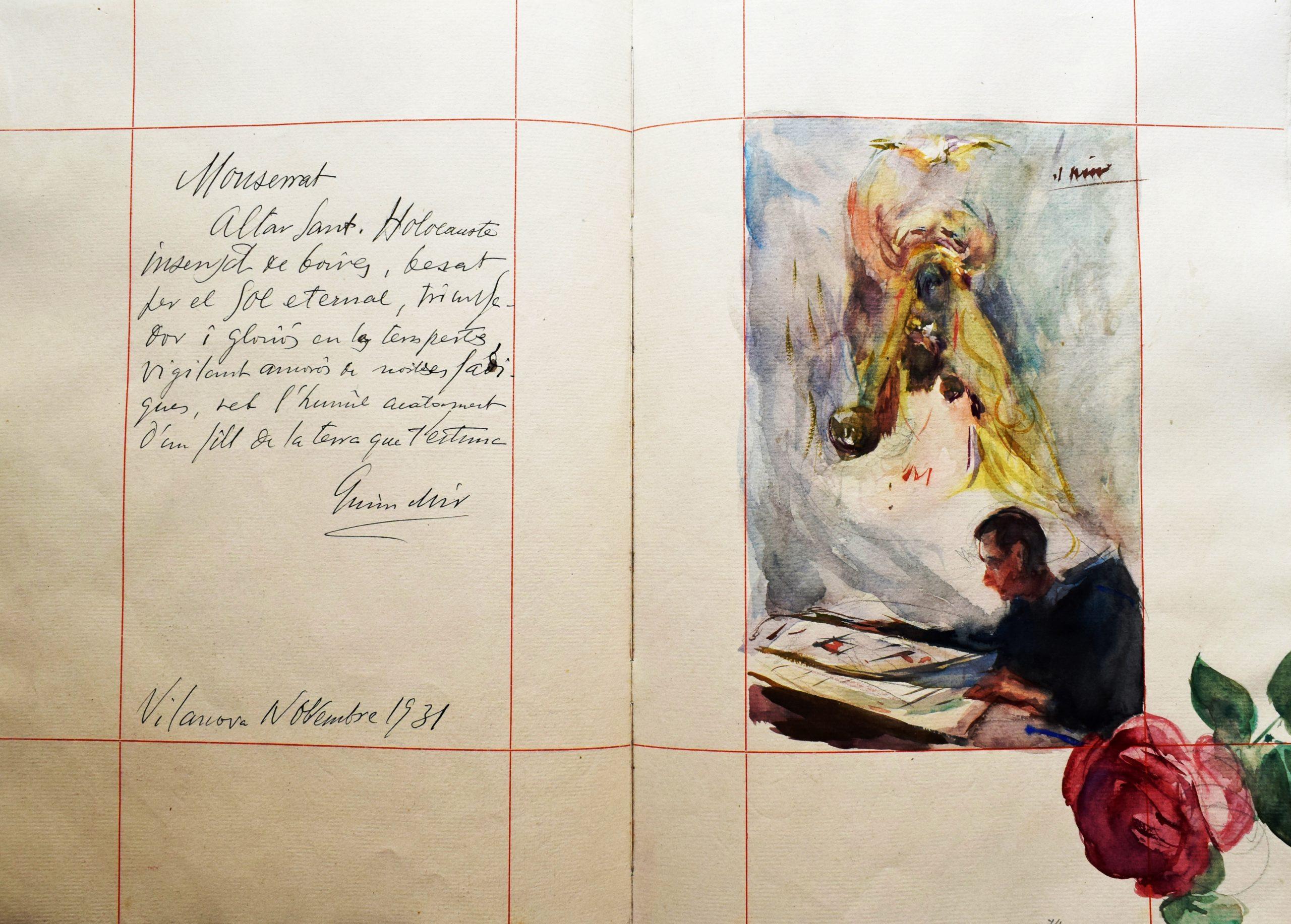 Manuscrits Corona Biblioteca de Montserrat